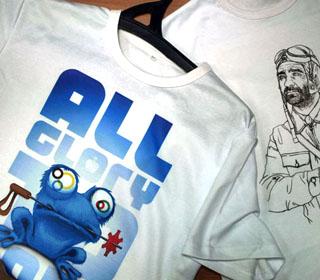 технология печати на футболках