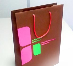 Крафт пакеты с логотипом красноярск